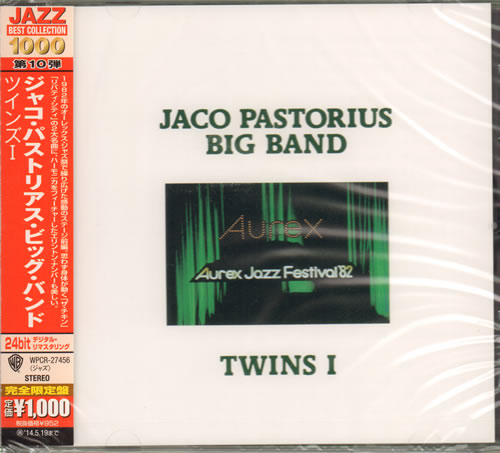 PASTORIUS, JACO - Aurex Jazz Festival '82 - Twins I - Sealed - CD