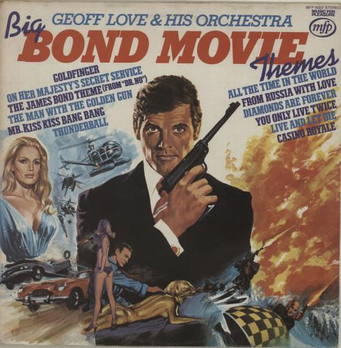 JAMES BOND - Big Bond Movie Themes - Maxi 33T