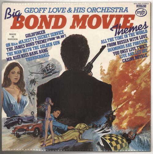 JAMES BOND - Big Bond Movie Themes - 12 inch 33 rpm