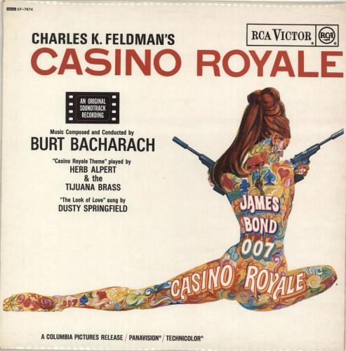 JAMES BOND - Casino Royale - Maxi 33T