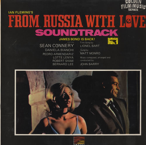JAMES BOND - From Russia With Love - Maxi 33T