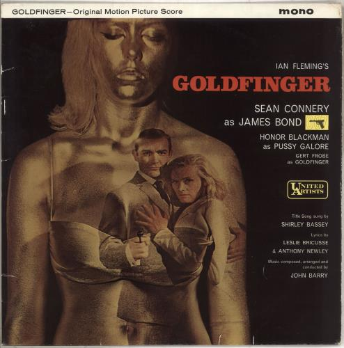JAMES BOND - Goldfinger - Maxi 33T
