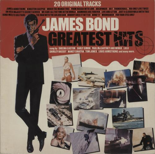 JAMES BOND - James Bond Greatest Hits - Maxi 33T