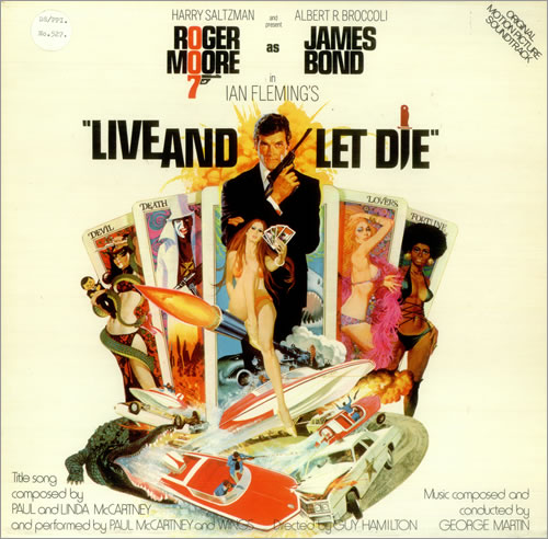 JAMES BOND - Live And Let Die - Maxi 33T