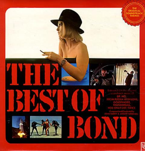 JAMES BOND - The Best Of Bond - 12 inch 33 rpm