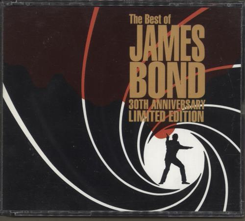 JAMES BOND - The Best Of James Bond - 30th Anniversary - CD