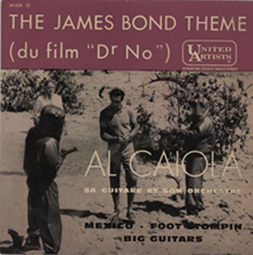 JAMES BOND - The James Bond Theme (du film Dr. No) - 45T x 1