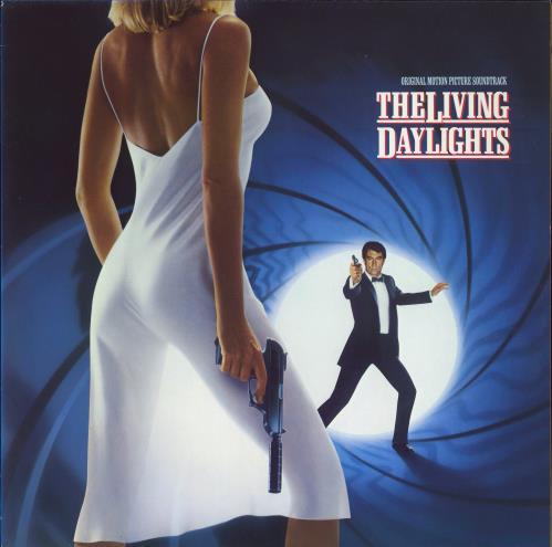 JAMES BOND - The Living Daylights - 12 inch 33 rpm