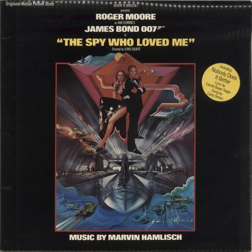 JAMES BOND - The Spy Who Loved Me - 12 inch 33 rpm