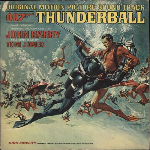 JAMES BOND - Thunderball - Mono - Maxi 33T