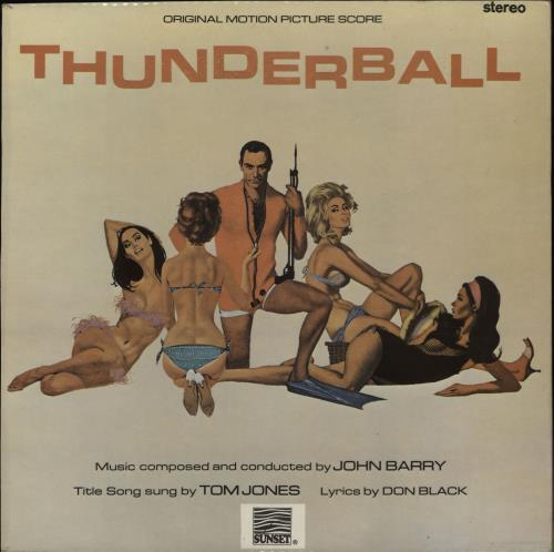 JAMES BOND - Thunderball - Maxi 33T