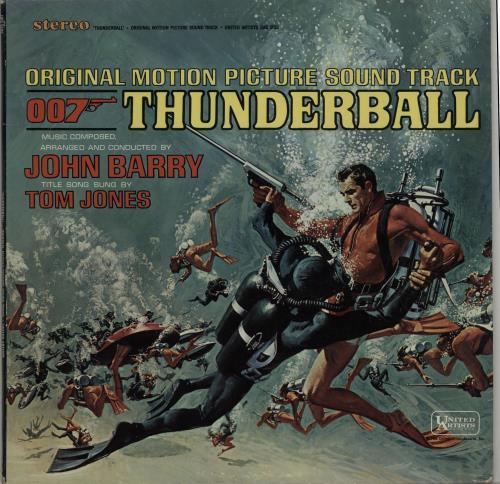 JAMES BOND - Thunderball - Stereo - Maxi 33T