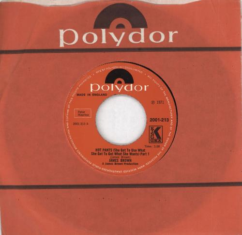 BROWN, JAMES - Hot Pants [She Got To Use What She Got To Get What She Wants] - 7inch x 1
