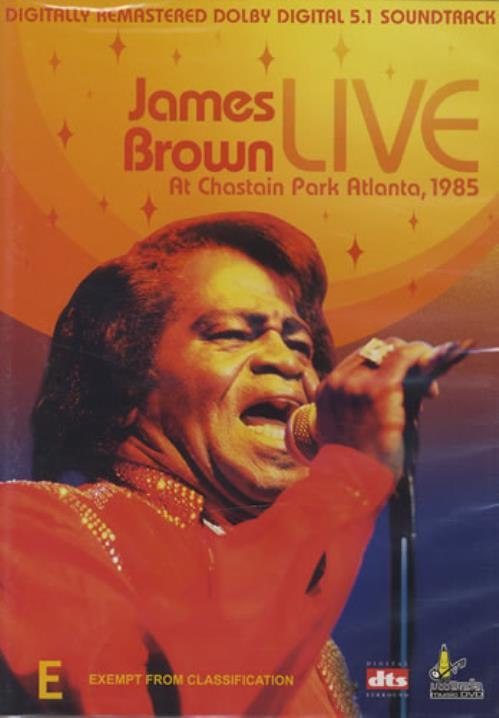 Brown, James Live At Chastain Park Atlanta, 1985