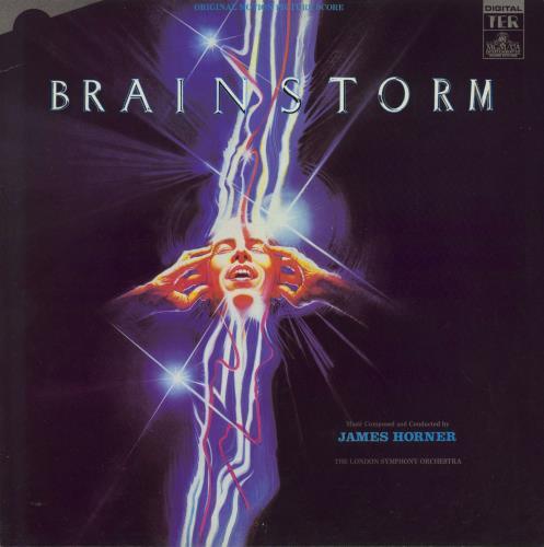 HORNER, JAMES - Brainstorm - 12 inch 33 rpm