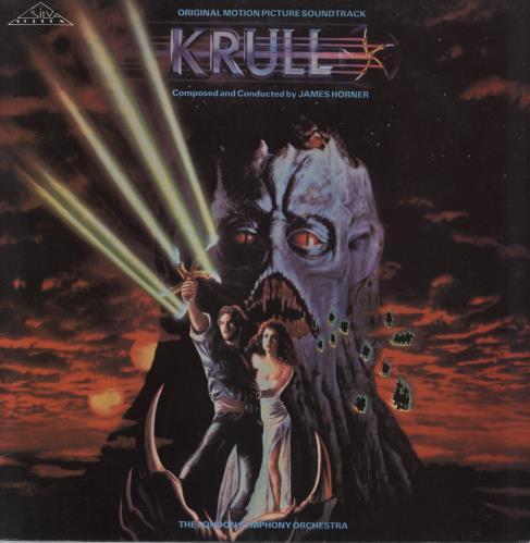 HORNER, JAMES - Krull - 12 inch 33 rpm