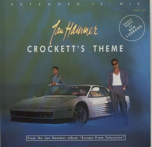 HAMMER, JAN - Crockett's Theme - 12 inch 33 rpm