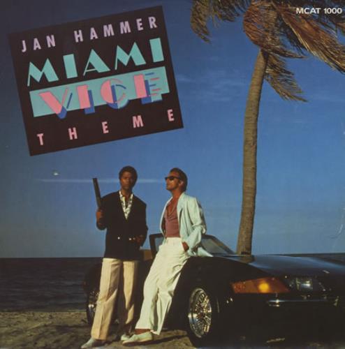 HAMMER, JAN - Miami Vice Theme - Maxi 33T
