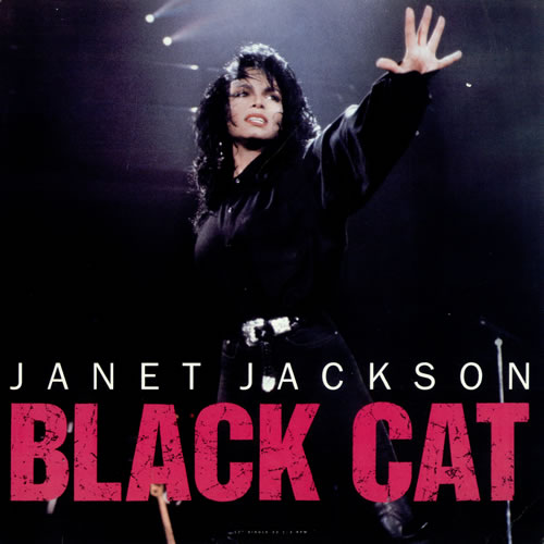 Janet Jackson Black Cat Usa 12 Quot Vinyl Record Maxi Single