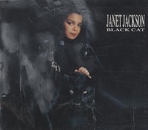 Janet Jackson Black Cat German 5 Cd Single 3905722 Black Cat Janet