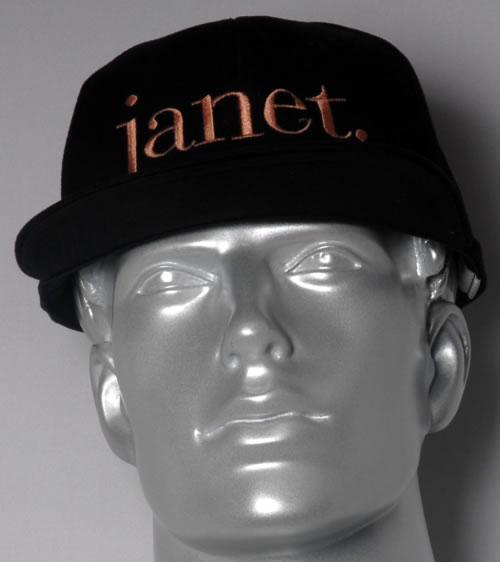 Janet Jackson Janet UK Hats BASEBALL CAP Janet Janet Jackson 593559 a71c0e31caa