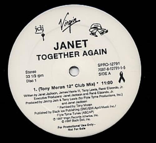 Together again - double pack by Jackson, Janet, 12inch with