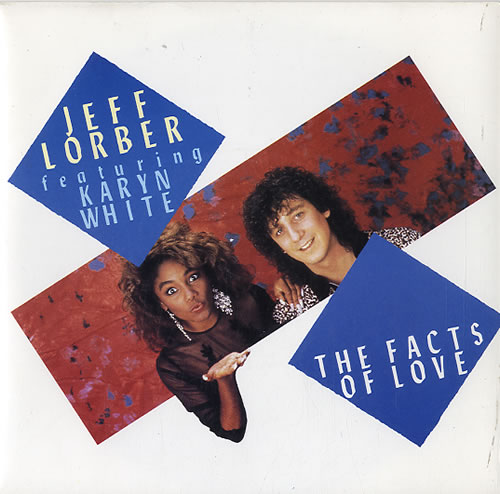 LORBER, JEFF - The Facts Of Love - 7inch x 1
