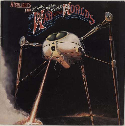 Jeff Wayne War Of The Worlds Vinyl Records Lp Cd On