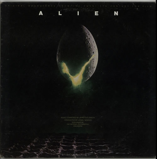 GOLDSMITH, JERRY - Alien - 12 inch 33 rpm