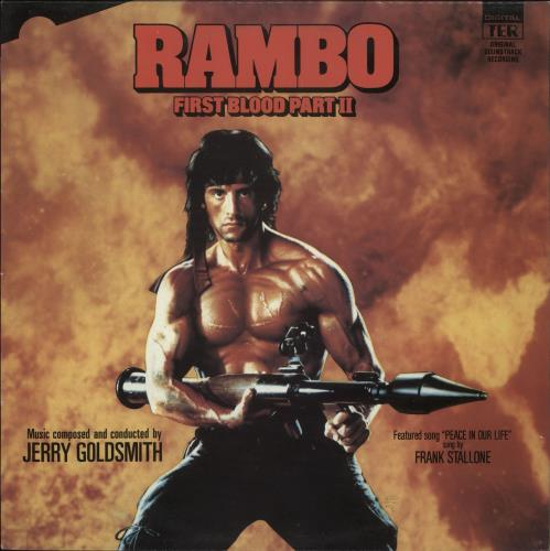 GOLDSMITH, JERRY - Rambo: First Blood Part II - 12 inch 33 rpm