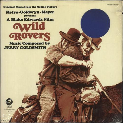 GOLDSMITH, JERRY - Wild Rovers - 12 inch 33 rpm