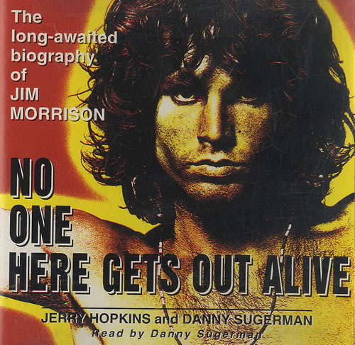 Jim Morrison No One Here Gets Out Alive Usa Cd Album 2