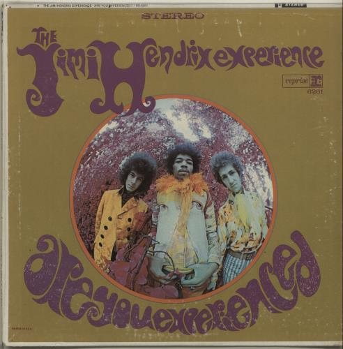 Hendrix, Jimi Are You Experienced - Tan Label