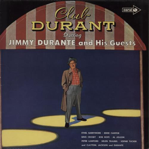 DURANTE, JIMMY - Club Durant Starring Jimmy Durante And His Guests - Maxi 33T