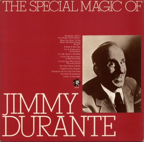 DURANTE, JIMMY - The Special Magic Of Jimmy Durante - Maxi 33T