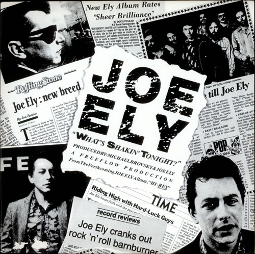 ELY, JOE - What's Shakin' Tonight - 12 inch 33 rpm