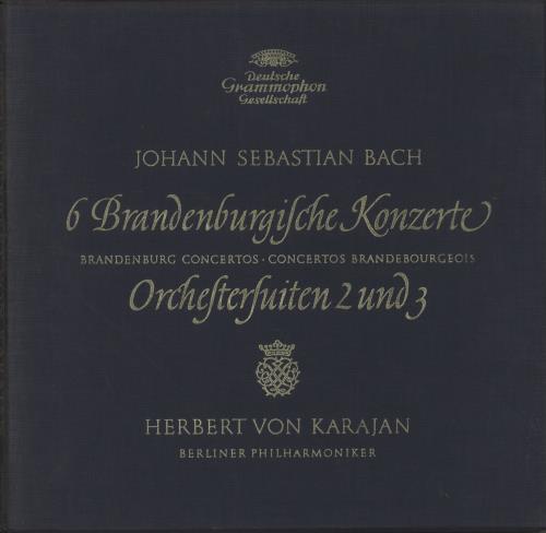 Bach, Johann Sebastian 6 Brandenburgilche Konzerte Orchestersuiten 2 und 3