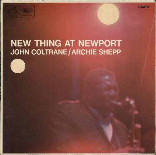 COLTRANE, JOHN - New Thing At Newport - Maxi 33T