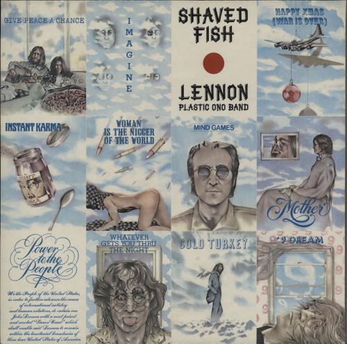 John lennon shaved fish vinyl records lp cd on cdandlp for John lennon shaved fish