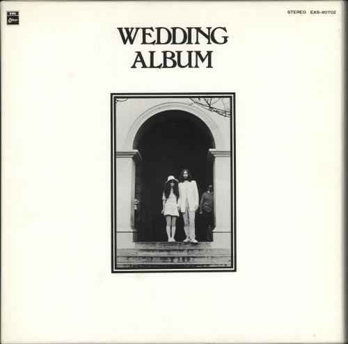 John Lennon Wedding Album Japan Vinyl Lp Box Set Eas 80702