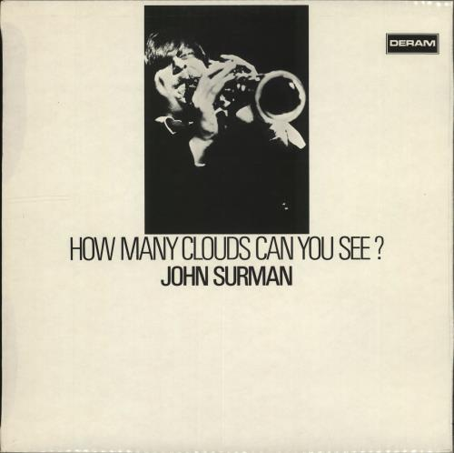 SURMAN, JOHN - How Many Clouds Can You See? - 1st - Maxi 33T