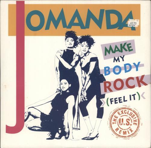 Jomanda Make My Body Rock (Feel It) (The Exclusive U.S. Remix)