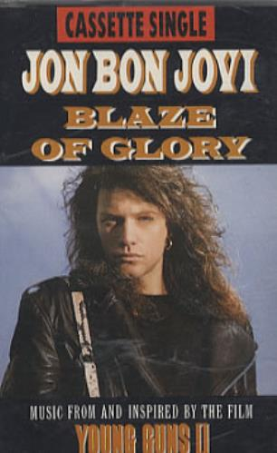 Art print POSTER Jon Bon Jovi on Blaze of Glory Set