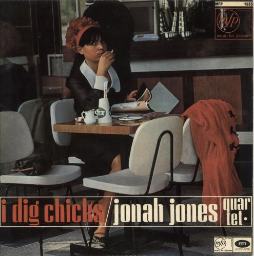 JONES, JONAH - I Dig Chicks - Maxi 33T