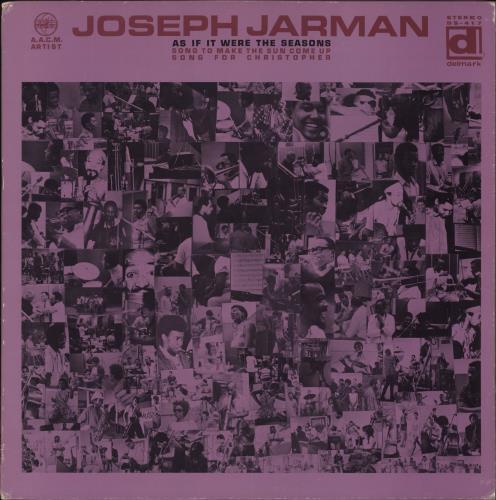 JARMAN, JOSEPH - As If It Were The Seasons - Maxi 33T