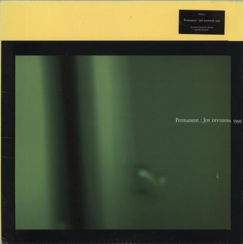 Joy Division Permanent Yellow Print Ex Uk Double Vinyl