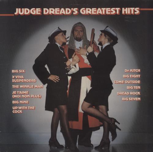 JUDGE DREAD - Judge Dread's Greatest Hits - 12 inch 33 rpm