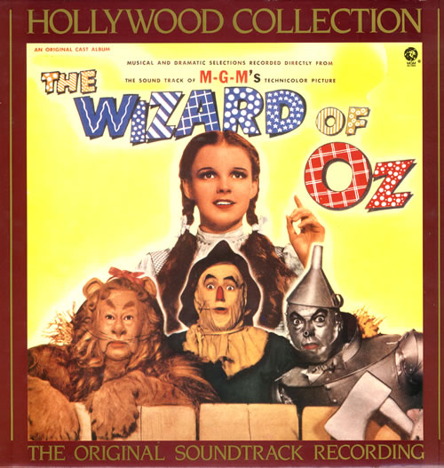 GARLAND, JUDY - The Wizard Of Oz - 12 inch 33 rpm