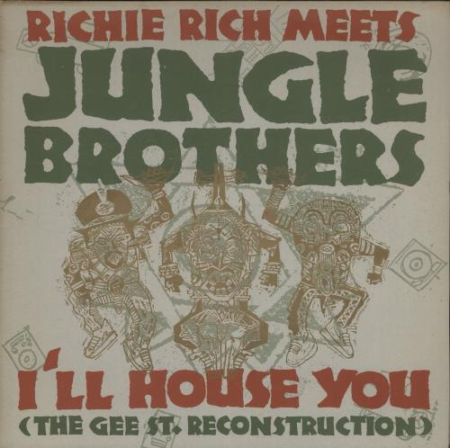 JUNGLE BROTHERS - I'll House You - 12 inch 33 rpm