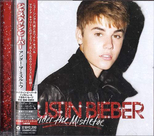 justin bieber under the mistletoe album